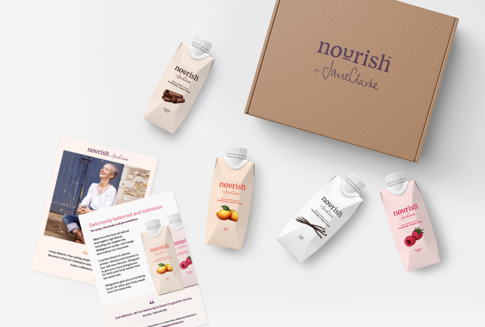 Nourish packaging